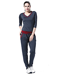 LEFAN ® Yoga Clothing Sets/Suits Yoga Pants+Yoga Tops Breathable/Stretch/Sweat-wicking/Softness/Lightweight