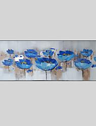 Ручная роспись Пейзаж / Цветочные мотивы/ботаническийСтиль 1 панель Холст Hang-роспись маслом For Украшение дома