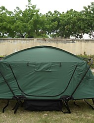 Go Travelling Moistureproof / Dust Proof Oxford One Room Tent Army Green