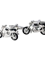 Jewelry Brass Material, Motorcycle Modelling Men Cufflinks