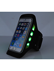 Bolsas para Esporte HAISKY® Braçadeira / Bolsa Celular Vestível / Touch Screen / Telefone / Luminoso Bolsa de CorridaIphone 6/IPhone