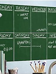 Home Decor Art Teaching Education Blackboard Greenboard Whiteboard Wallpaper Wall Covering PVC Wall Paper 2*0.45 M