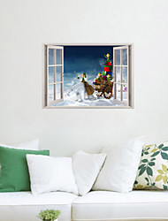 3D Wall Stickers Wall Decals, Christmas Gift Decor Vinyl Wall Stickers