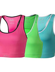 yoga / ciclismo superior / BRA / tankolyester de las mujeres clothin®&elastano ciclismo camisola