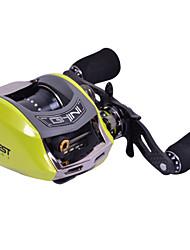 Haibo 10 Bearing Baitcast Fishing Reel Gear Ratio 6.5:1  Alu Body Fresh Water