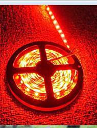 LED diodes émettant de la lumière bande de lumière 3528SMD 600led IP65 étanche DC12V multiples couleurs 5m / lot