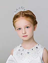 Flower Girl's Alloy Headpiece-Wedding / Special Occasion / Casual / Outdoor Tiaras 1 Piece
