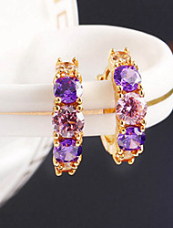 Top Sale Bohemia Vintage Wholesale Women Elegant Rhinestone Stud Earring