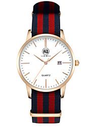 AIBI® Men's Fashion Watch Calendar Water Resistant New York Rose Golden Red Designer Watch For Men Wrist Watch Cool Watch Unique Watch With Watch Box