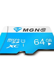 Оригинальный MGN класс 64gb Micro SD 10 SDHC TF флэш-карты памяти высокой скорости подлинный