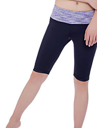 Iyoga ® Yoga Crop Antistatic / Limits Bacteria / Sweat-wicking / Soft Stretchy Sports Wear Yoga Women's