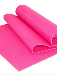 Pure color green yoga mat