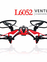 LiShi L6052 4CH 6 axis 2.4G 3D Fly Gyro Headless model FPV Real Time Black / Red / Yellow Drones