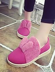 Women's Shoes Sweet Cute Low Heel Comfort / Round Toe Slip-on Casual