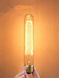 e27 40w creatieve soort buis gloeilampen klassieke zijde afgehaspeld lamp
