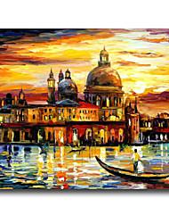 iarts®river oltre antico Castel pittura di paesaggio stile impressione