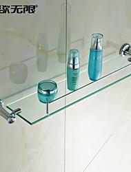 weiyuwuxian® elegante cristal de plata estante de cristal de bronce