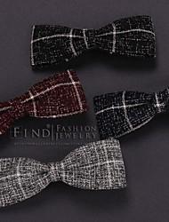 Stripe Cloth Art Bowknot Hairpin Bang Clip Hair Accessories
