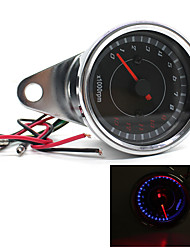13000 RPM LED Speedometer Tachometer Odometer Motorcycle Rev Counter Tach Gauge