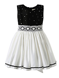 Girl Black Classical Flower Girl Dresses