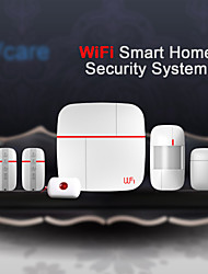 Home Security Alarm System with Door Sensors Medical Call Button And Motion Detector