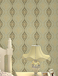 New Rainbow™ Floral Wallpaper Contemporary Wall Covering , Non-woven Paper Modern minimalist personality