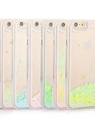 Pour Coque iPhone 7 Coques iPhone 7 Plus Coque iPhone 6 Coques iPhone 6 Plus Coque iPhone 5 Liquide Coque Coque Arrière CoqueCouleur