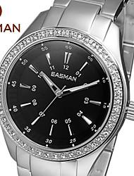 Mulheres Relógio de Moda Quartz Impermeável Lega Banda marca-