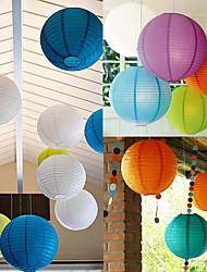 35 centimetri 220v matrimonio luce lampada di carta di colore festa lampada colore celebrazione lanterna led
