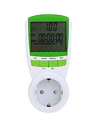 Power Energy Meter LCD Digital Display Wattage Voltage Current Frequency Monitor Analyzer