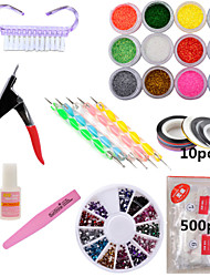 1set Nail Decoration Nail Tool Sets