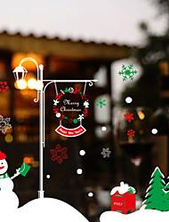 Free Shipping - Christmas Celebrations Window Sticker Contemporary , Art Deco 70*50CM
