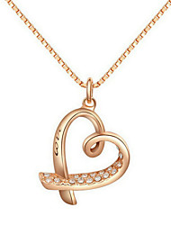 Golden Chain Necklaces Wedding / Party / Daily / Casual 1pc Jewelry