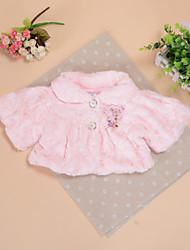 Girl's Pink / White / Beige Jacket & Coat , Dresswear Polyester Winter
