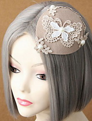 Women's Lace / Imitation Pearl / Fabric Headpiece - Wedding / Special Occasion Fascinators
