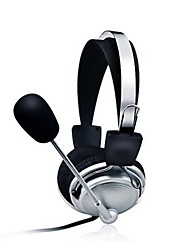 fone de ouvido estéreo para PC com headbands fones de ouvido microfone de jogos