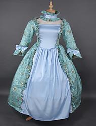vestido de la impresión de la princesa lolita prom venta rococó steampunk®top vestidos marie antonieta vestido de noche wholesalelolita piso-longitud