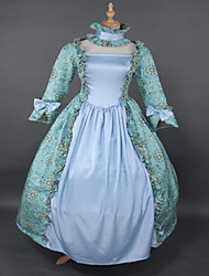 steampunk®top venda rococó vestido impressão princesa lolita baile vestidos de Marie Antoinette wholesalelolita chão comprimento vestido de noite