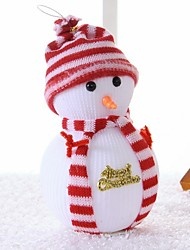 Christmas Snowman Christmas Tree Scene Decoration Supplies The Doll