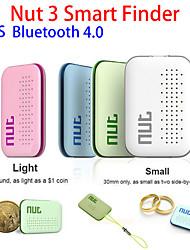 mini-écrou 3 viseur intelligent pour enfants pet clé Anti perdu bluetooth gps balise de localisation Tracker