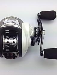 Molinetes de Isco 6.3:1 10 Rolamentos Destro Isco de Arremesso / Pesca de Água Doce / Pesca de Isco - MD200RA YU JU SHI