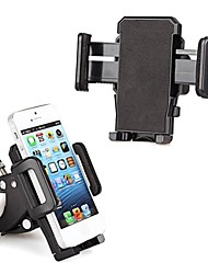 Bike Motorcycle Mount Holder Cradle Stand for Smart Cellphone iPhone iPod Black