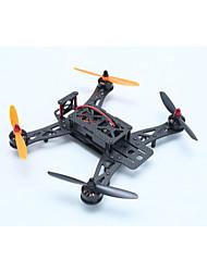Drone Sextante S250 6 Canais 3 Eixos 2.4G Com Câmera HD de 720P Quadcóptero RC FPV / Com Câmera Preto