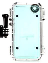 экстремальные виды спорта водонепроницаемый корпус с широкоугольным объективом + GoPro адаптер для iphone6 / 6с