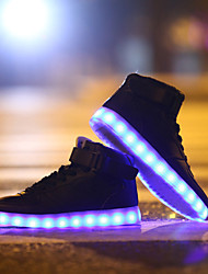 LED Light Up Shoes, Running Shoes 2017 New Arrival Shoes USB charging Best Seller High Top Basket Fashion Sneakers Black / White / Red