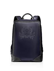 Mochila / Bolsa de Esporte & Lazer / Mochila Escolar / Mala de Viagem - Unissex - Saco - Azul - Couro de Gado / Lona