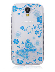 For Samsung Galaxy Case Transparent / Pattern Case Back Cover Case Butterfly TPU SamsungS6 edge plus / S6 edge / S6 / S5 Mini / S5 / S4