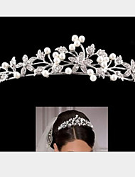 Rich Long Women's Elegent Pearl Hair Clip