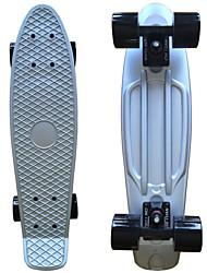 skate plástico anodizado (22 polegadas) bordo do cruzador com prata rolamento ABEC-9
