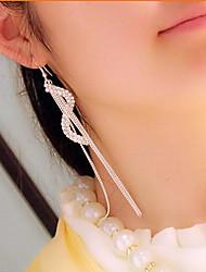 Rich Long Women's All Matching Elegant Diamonade Long Earring